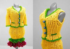 Miniature Beaded Dresses by PinkythePink - The Beading Gem's Journal.