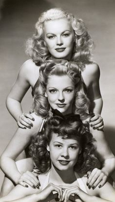The Dolly Sisters 1945 starred Betty Grable as Jenny, June Haver as Rosie and Trudy Marshall as Lenora Baldwin.
