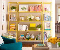 Ikea hack- vittsjo shelving refresh with paint