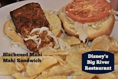 Blackened Mahi Mahi Sandwich from Big River Grille at Disney's BoardWalk Resort   Mahi Sandwich #DisneyFood #WaltDisneyWorld
