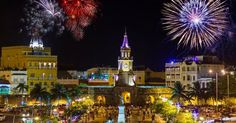 Happy New Year!!! #Cartagena is full of color history and amazing cuisine! Are you coming in 2016? #NYE #nye2016 #Colombia #SouthAmerica #Travel #traveller #travelgram #travelgram #traveldiaries #wanderlust #casasanagustin #cartagenadeindias by casasanagustin