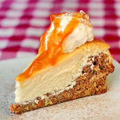 Carrot Cake Cheesecake - inspired by the Cheesecake Factory version of this incredible dessert, this recipe is actually quite a bit easier to accomplish than you might think. The cheesecake layer is baked right on top of the carrot cake layer at the same time.