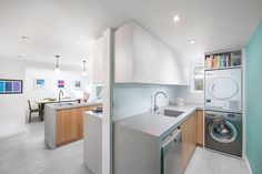 Cityzen redesigned the layout of this property's rear ground floor, restoring the kitchen as the heart of the home. Zen, Ground Floor, Restoration, Home Appliances, Layout, Flooring, Architecture, Heart, Kitchen