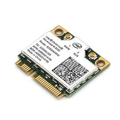 Brand New Intel Centrino Advanced-n 6235 6235anhmw Wifi Wlan Bt Bluetooth 4.0 Half Mini Cardcentrino Advanced-n 6235 6235anhmw Wifi Wlan Bt Bluetooth 4.0 Half Mini Card by Intel. $28.99. Description :  ?Brand Name : Intel  ?Model : 6235ANHMW / Intel Centrino® Advanced-N 6235 ?BIOS : Standard (Fit all brand laptop, not included HP/Lenovo)  ?Type : 802.11 a/b/g/n + Bluetooth 4.0 ?Size : 26.8mm x 30mm(Half MINI PCI-E. You may need full size bracket to screw up th...