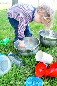 Outdoor water activities for kids