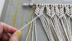 mini-macrame-wall-hanging - DIY | Parlor Diary