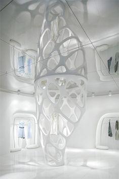 Futuristic Interior Design. ROMANTICISM2 in Hangzhou, Futuristic Architecture