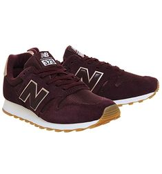 New Balance 373 burgundy & rose gold size Office Metallic Leather, Leather Shoes, Gold New Balance, Metallic Sneakers, Burgundy And Gold, Trainers, Rose Gold, News, My Style