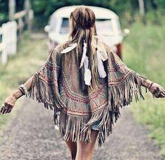 ☮ American Hippie Bohéme Boho Style ☮ Fringe .. Free Spirit