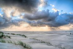 Sunset on northern Texel by perryverveld Netherlands, Clouds, Sunset, Outdoor, The Nederlands, Outdoors, The Netherlands, Holland, Sunsets
