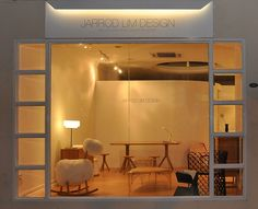 Jarrod Lim Opens a Design Studio in Singapore Studio Interior, Interior Design, Interior Ideas, Retail Space, New Furniture, Singapore, Lighting, Bed, Designers