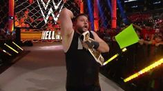 Owens after beating Ryback at HIAC Kevin Owens, Wwe Superstars, All In One, Champion, Concert, Sports, Wrestling, Hs Sports, Lucha Libre