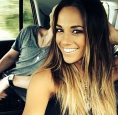 Jana Kramer ombré hair- I'm not a fan of ombre hair but I like the ends and her. Jana Kramer, Blonde Balayage Highlights On Dark Hair, Different Hair Colors, Let Your Hair Down, Along The Way, Hair Day, Fall Hair, Gorgeous Hair, Beautiful
