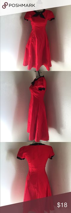 Dress, rockabilly dress, pin up dress, Red 50's/rockabilly dress size M in mint condition new with tags. Please feel free to make offers, I will give additional discount to all bundles. Posh on.... Miusol Dresses