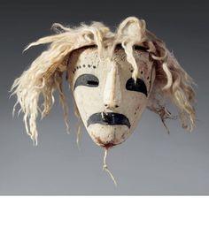 Clown Pueblo mask