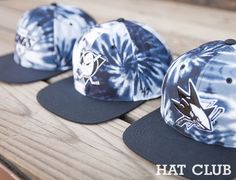 Tye Dye Custom Team Snapback Caps by HAT CLUB x 47 BRAND