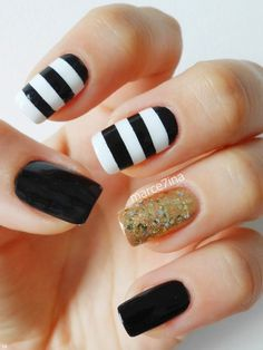 colorful nail design manicure  2014