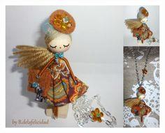 Diseños registrados en la OEPM. Diseño industrial.Collar de muñeca/ Doll necklace von De la felicidad........ auf DaWanda.com