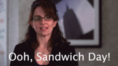Any true holiday food lover has a special nickname for Christmas Eve/Christmas. | Community Post: 10 Liz Lemon GIFs That Illustrate Your Love Of Food During The Holidays