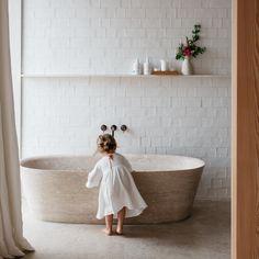 Victorian Home Interior Bathroom renovation inspo - handmade tiles Handmade Tiles, Handmade Home Decor, Bad Inspiration, Bathroom Inspiration, Ideas Hogar, Laundry In Bathroom, Bathroom Bath, Bathroom Ideas, Bathroom Designs