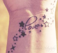 19 Meaningful Wrist Tattoos With Words – Wrist Designs Star Tattoos, Forearm Tattoos, Body Art Tattoos, New Tattoos, Tatoos, Trendy Tattoos, Tattoos For Women, Tattoos For Guys, Star Tattoo On Wrist