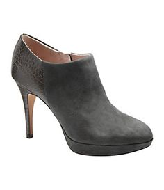Vince Camuto Elvin Mixed-Media Booties | Dillard's Mobile