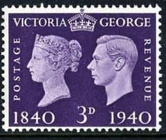 SG484 1940 Centenary 3d