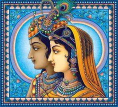 Radha,The Queen of Vrindavan: Photo Radha Krishna Photo, Krishna Art, Krishna Images, Radhe Krishna, Lord Krishna, Shiva, Kalamkari Painting, Krishna Painting, Madhubani Painting