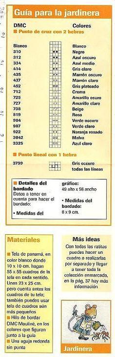 tengo muchos patrones de punto de cruz. (pág. 209) | Aprender manualidades es facilisimo.com