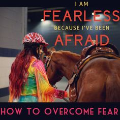 Overcoming Fear! Be brave when riding!