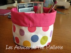 TUTO VIDE POCHE Coin Couture, Baby Couture, Couture Sewing, Sewing Projects, Projects To Try, Basket Organization, Creation Couture, Handicraft, Origami