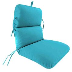 Attirant Replacement Chair Cushion, Multiple Fabric Choices Available