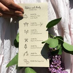 Die 31 Besten Bilder Von Programmhefte Zur Hochzeit Invitations