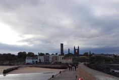 This October, I got a chance to visit The University of St Andrews, the oldest university in Scotland. Universities In Scotland, Her Campus, St Andrews, Helsinki, Cn Tower, Seattle Skyline, Hogwarts, University, Love