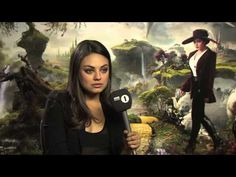 "This is great! ""Watch Mila Kunis Make a Sweet, Clueless Reporter Guy's Dreams Come True"""