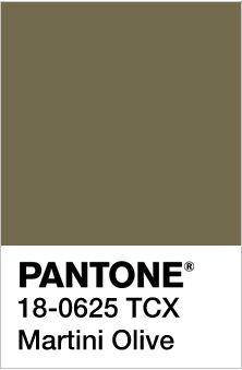Pantone ~ Martini Olive