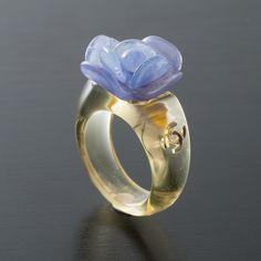 Vintage Chanel Floral Ring
