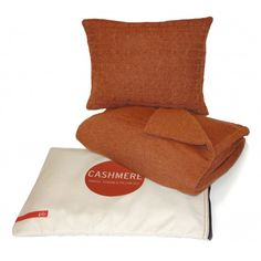 The pb travel cashmere throw and pillow set is the ultimate in travel luxury.  Add elegance and warmth to your life on or off the airplane.  The throw can double as a chic day or evening shawl.