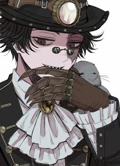Anime Zombie, Anime Demon, Pretty Art, Cute Art, Coraline, Character Concept, Character Art, Elsword Anime, Id Identity