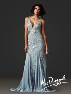 Couture Dresses by Mac Duggal Style 61713D now in stock at Bri'Zan Couture, www.brizancouture.com