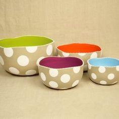 nesting bowls! Or a cereal bowl set.