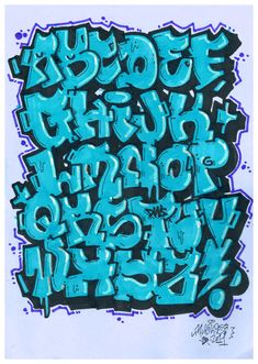 Design Brief > Street Alphabet Competition Graffiti Alphabet Styles, Graffiti Lettering Alphabet, Tattoo Lettering Fonts, Doodle Lettering, Graffiti Styles, Graffiti Text, Graffiti Tagging, Graffiti Drawing, Graffiti Wildstyle