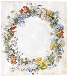 huysum, jan van a wreath of flower ||| other ||| sotheby's l11040lot64hl2es