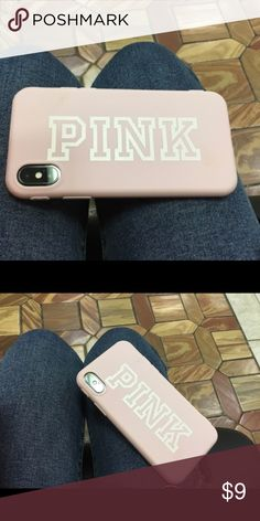 Pink Phone Case iPhone X Pink VS Phone Case for the iPhone 10. Brand new and never used. Accessories Phone Cases #iphone10,