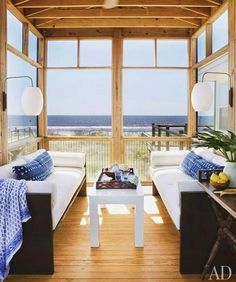 Oceanside Bungalow with Bohemian Flair ~ Interior Design Files