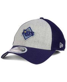 New Era Tampa Bay Rays Total Reflective 39THIRTY Cap - Blue L/XL