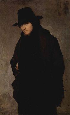 """""""The Student"""", 1881. Nikolai Yaroshenko, Russian painter."""