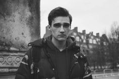 Elliot at Supa Models inbetween shows during London Colletions Men AW14:by Paola Vivas for Boys by Girls.