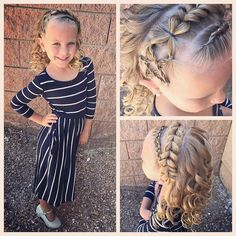 "Happy Memorial Day Today we did a fun hairstyle with a star (inspired by @jehat) and ""stripes"" and curls. #tinzbobenz #toddlerhairstyle #toddlerhairstyles #princesshair #starhair #patriotichair #holidayhair #memorialday #memorialdayweekend #kidsstyle #kidsbraids #kidsfashion #kidshair #hairideas #hairstyle #hairinspo #braidart #braidideas #braidstyles #braidingmommies #braidinspiration #cutegirlshairstyles #braidsforlittlegirls #instahair #instakids #instabraid #instastar #curls #pullthro..."