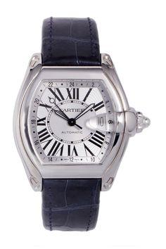 Vintage Cartier Men's Roadster GMT Watch on @HauteLook